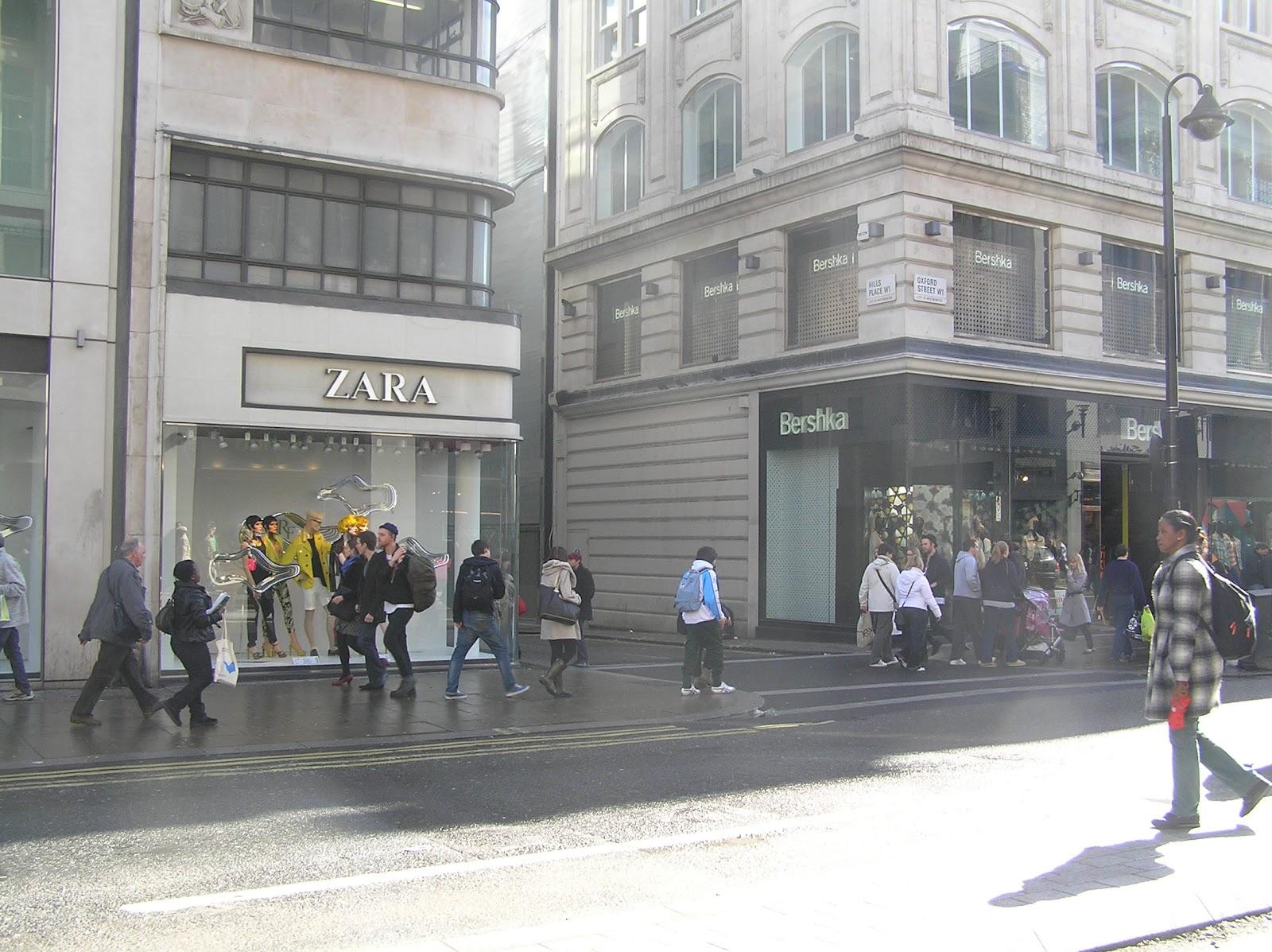 Zara stores in london tiendas de zara en londres tendas de zara en londres evpita 39 s blog - Bershka en londres ...