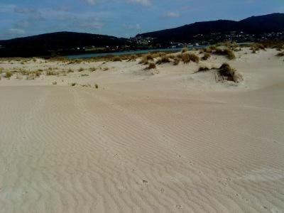 by E.V.Pita... River Anllons mouth beaches in Death Coast of Galicia / Costa da Morte: Playa de la desembocadura del río Anllóns en Ponteceso / Praia do Río Anllóns (por E.V.Pita)