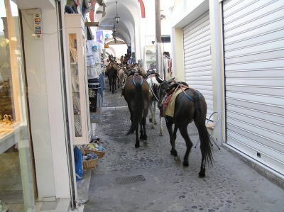 by E.V.Pita 2007 / Santorini (Greece) city walk in 2 hours