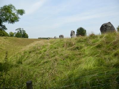 By E.V.Pita (2013) Avebury, stone circle and megalithic sanctuary  (UK) / Por E.V.Pita (2013) Avebury (UK), círculo de piedra y santuario megalítico