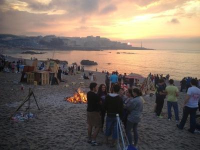 By E.V.Pita (2014) Spain, St John's Eve Fire in  midsummer solstice / Por E.V.Pita (2014) Galicia, fiesta de San Juan en el solsticio de verano