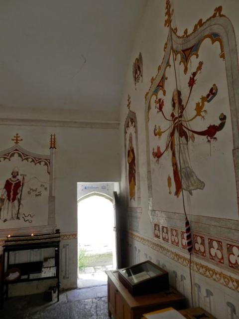 by E.V.Pita (2014) / Glastonbury Abbey, the tomb of King Arthur / Por E.V.Pita (2014) La tumba del rey Arturo en la abadía de Glastonbury