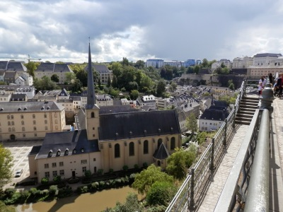 by E.V.Pita.... Luxembourg City in 3 hours / Por E.V.Pita.... Luxemburgo en tres horas