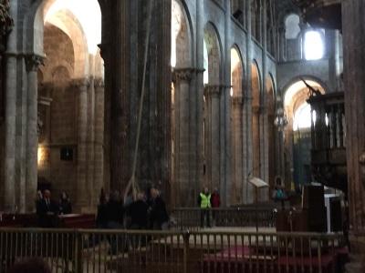 Spain, Botafumeiro (large censer) of Cathedral of Santiago   by E.V.Pita (2015)  http://picturesplanetbyevpita.blogspot.com/2015/04/spain-botafumeiro-large-censer-of.html  Botafumeiro (incensario) de Catedral de Santiago  por E.V.Pita (2015)